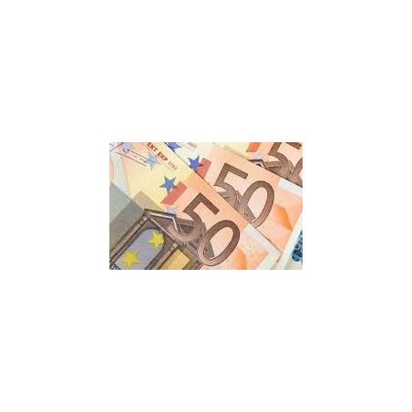 Valeur de 50 €